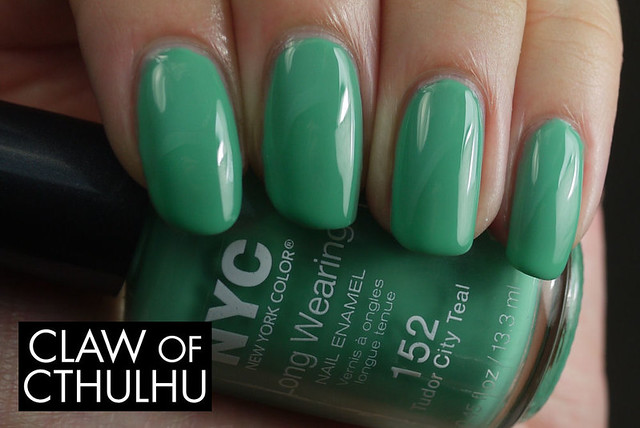 NYC New York Color Tudor City Teal Swatch