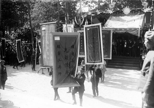 9-6-1920 - Lễ khánh thành Đền Kỷ Niệm Tử sĩ Đông Dương tại Vườn thuộc địa Nogent-sur-Marne