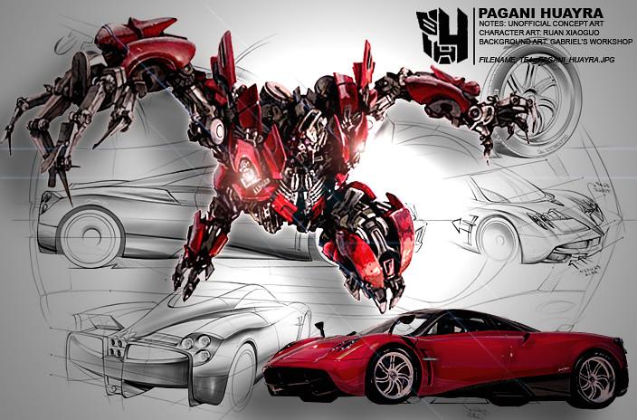 tf4 pagani huayra | #transformers #tf4 #transformers 4 #tran… | flickr