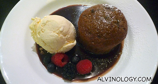 Baked Ginger Date Pudding - S$15