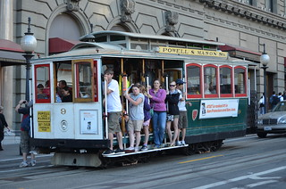 MUNI Powell Mason Line - San Francisco - Powell and Geary - August 16, 2013  (1)