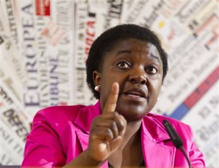 Italian Minister of Integration Cécile Kyenge has been insulted by racist politicians for her work. She was born in the Democratic Republic of Congo (DRC). by Pan-African News Wire File Photos