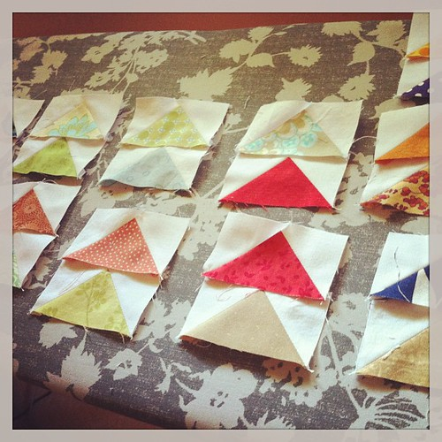 Cut, sew, iron, repeat #quilting