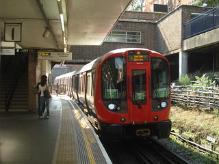 S7 21317 on District Line, Earl's Court
