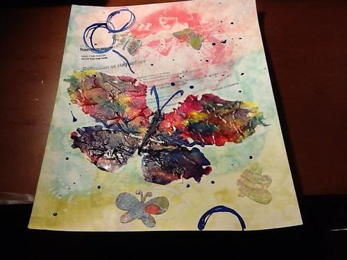 Inkblot butterfly by momoo50