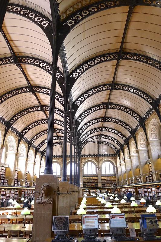 la Bibliothèque Sainte-Geneviève - Paris