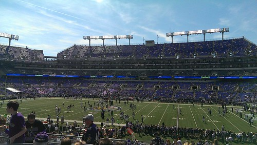 First Ravens and NFL Game!