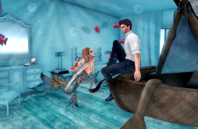 Meme Monday: Surrealism Challenge - Mermaid's Dream
