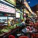 Straßenrestaurants & Garküchen. Kuala Lumpur / Malaysia