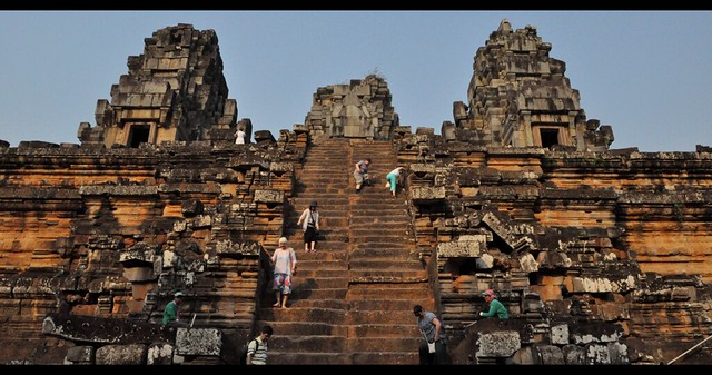 Temple Ta Keo, Cambodia