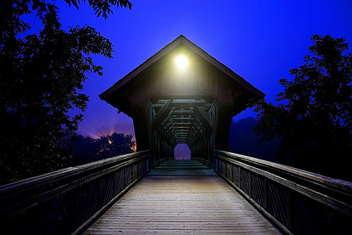 Covered Bridge... by Natures Caretaker