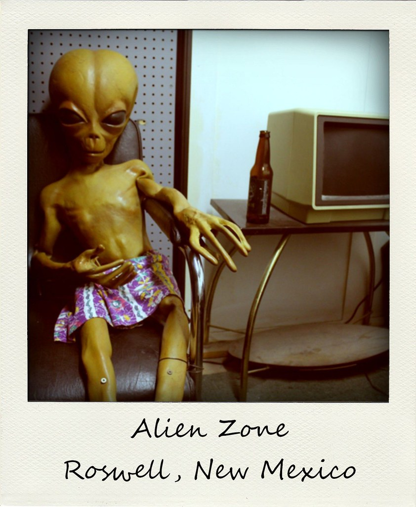 polaroid of the week new mexico alien