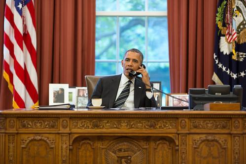 Obama phoning Rouhani