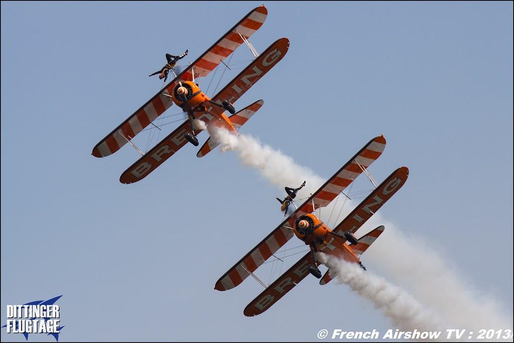 Breitling Wingwalkers Meeting Aerien Dittinger Flugtage 2013