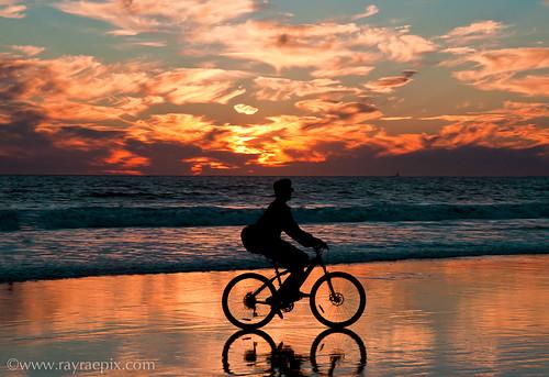 Venice Beach Sunset by Ray Rae