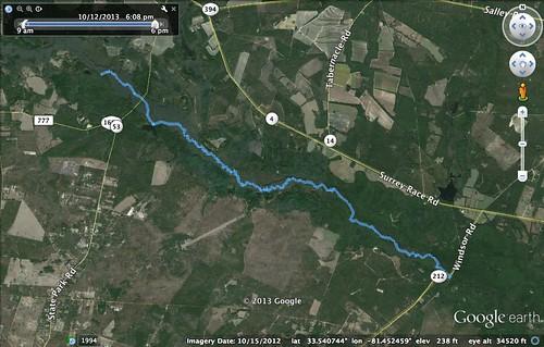 South Edisto GPS Track