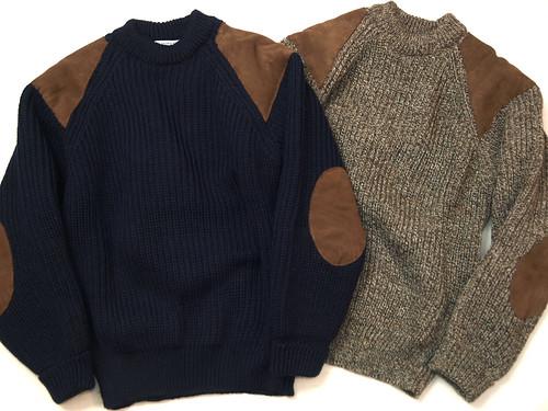 Oldderby Knitwear / Chunky Rib Crew Sweater