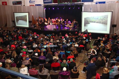 Messa við lok landsmót ÆSKÞ 2013