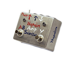 Napalm Amp Selecta - Active Amp Selector (Footswitches: A/B, Y)