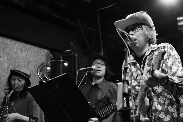 ハル宮沢コスモポリタンカウボーイズ Cosmopolitan Cowboys live at 'aja', Tokyo, 04 Nov 2013. 297