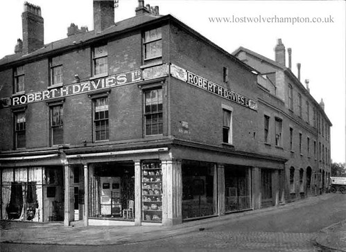 Robert Davies House Furnishers 83 Darlington Street 1911