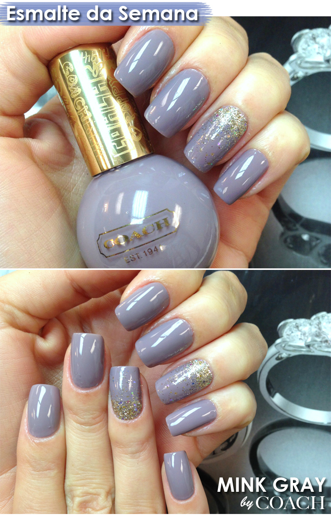 nails mink gray
