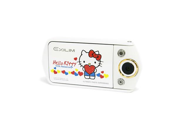 CASIO TR15 自拍神器 Hello Kitty 限量版本 @3C 達人廖阿輝