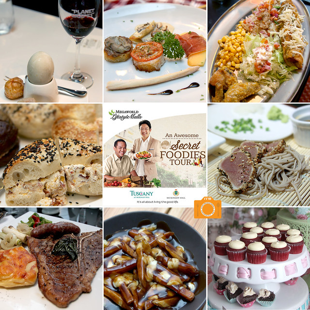 Awesome Secret Foodies Tour collage