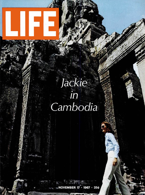 LIFE Magazine NOVEMBER 17, 1967 - Jackie in Cambodia