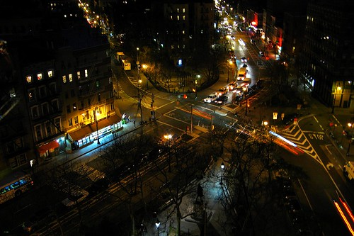 abingdon square night