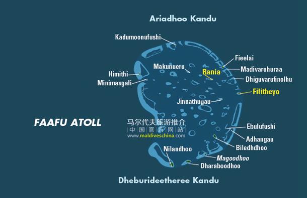 马尔代夫Faafu环礁