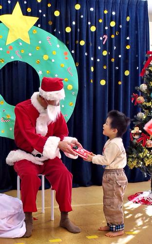 保育園のクリスマス会 2013/12