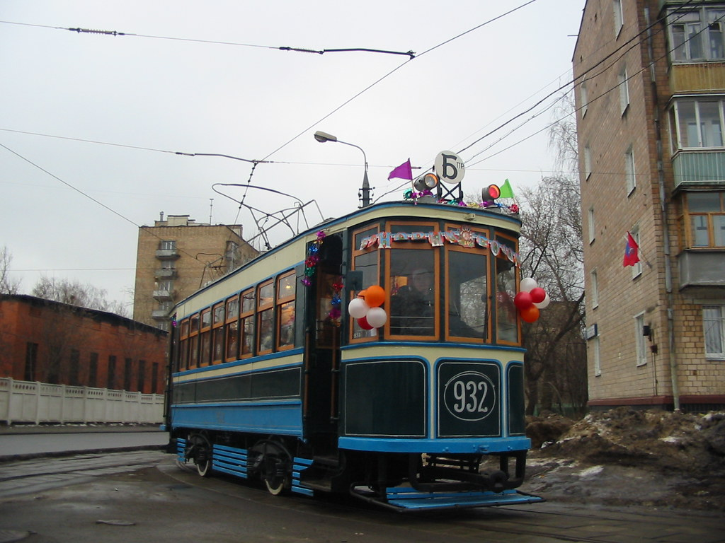 moscow tram BF 932 _20031231_142