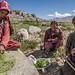 Woman making spice at Tso Moriri, Ladakh, India by sandeepachetan.com