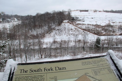 snow dam southfork johnstownflood