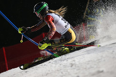 Phelan in action in Flachau, AUT