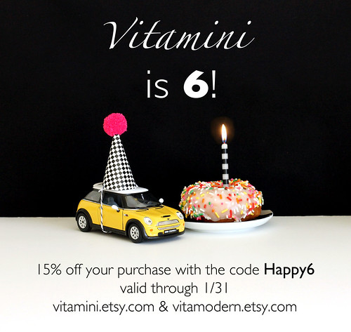 Vitamini Birthday Sale!