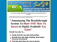 Tax Lien Investing Basics