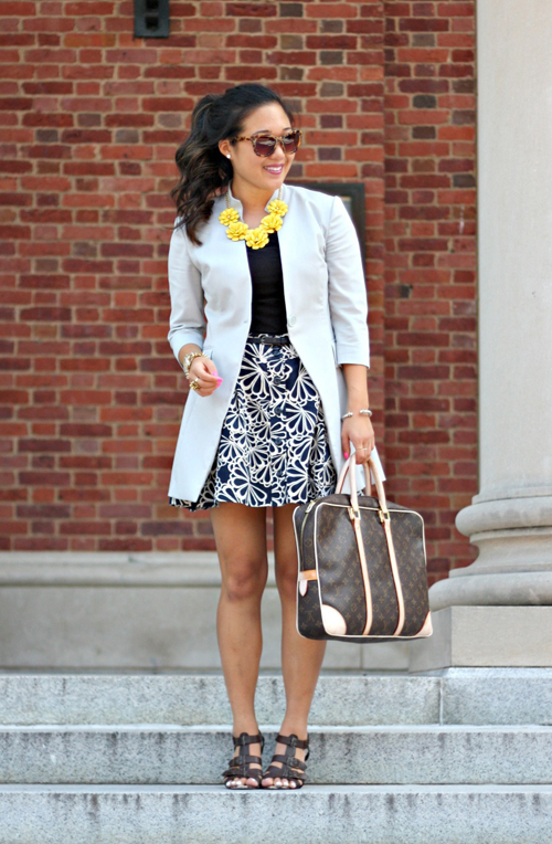 Chic of the Week: Grace's Floral Office Outfit