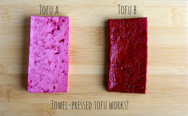 How to Towel Press Tofu for Marinating