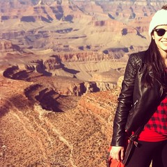 Couldn't be more thankful! Breathtaking site! ...... Não poderia estar mais grata! Momento maravilhoso em lugar de tirar o fôlego!   #GrandCanyon #thanksGod #Landscape #nature #creation #western #usa