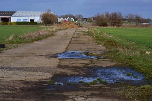 RAF Witchford SW - NE runway