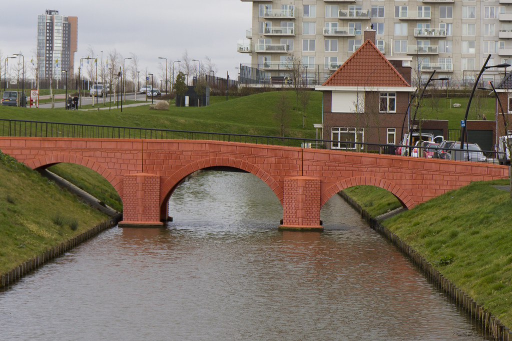 Fictional Euro Banknote Bridges Brought to Life in the Netherlands
