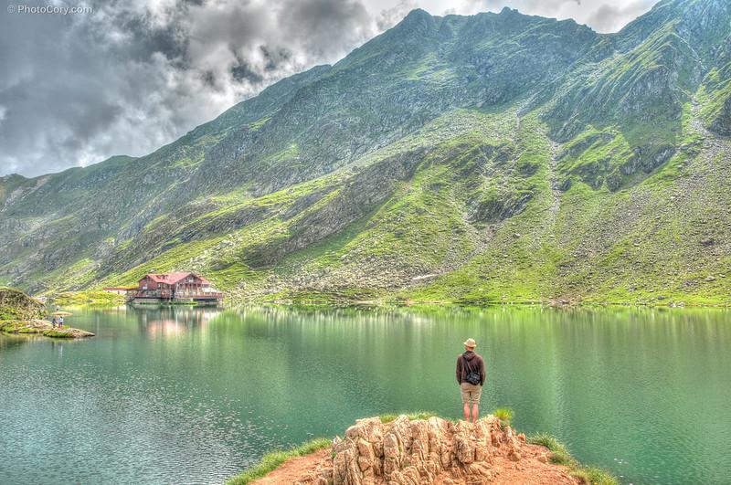 lac balea, romania