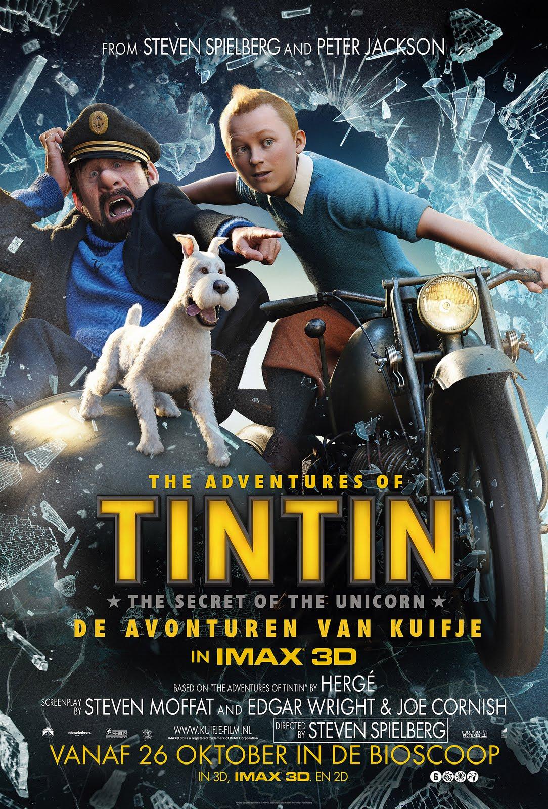 the adventures of tintin hindi dubbed (2011) 1080p 1.9gb bluray