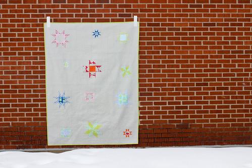 Shining Stars Quilt Pattern by Jeni Baker