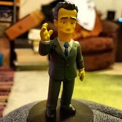 Tom Hanks Simpsons style #nerdblock