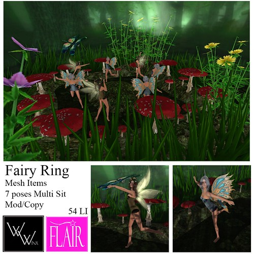 W. Winx & Flair - Fairy Ring - Vendor