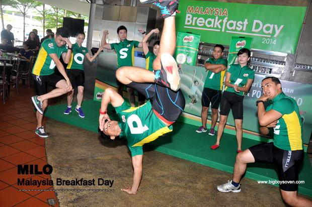 MILO Malaysia Breakfast Day 2014 2