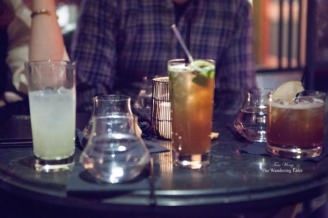 "Center tall drink: New York ""Deli"""